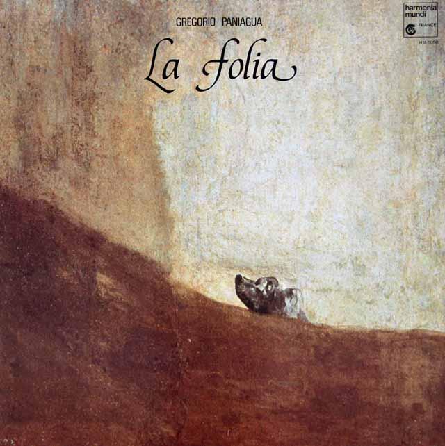 パニアグアの「ラ・フォリア」 仏HM 3118 LP レコード