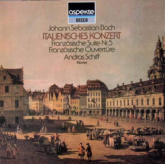 シフのバッハ/イタリア協奏曲ほか 独DECCA 3119 LP レコード