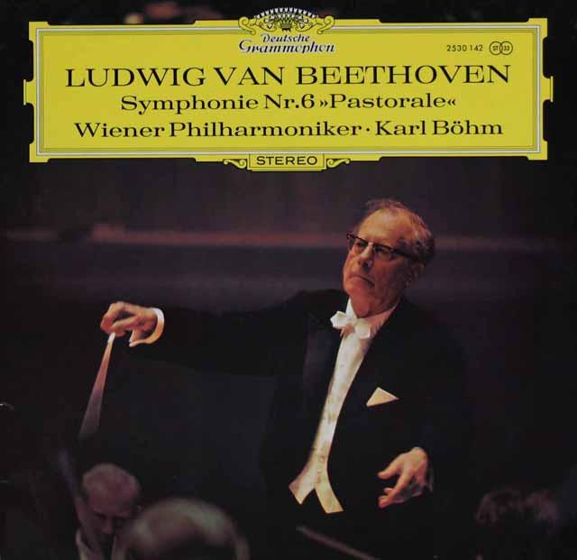 ベームのベートーヴェン/交響曲第6番「田園」 独DGG 3120 LP レコード