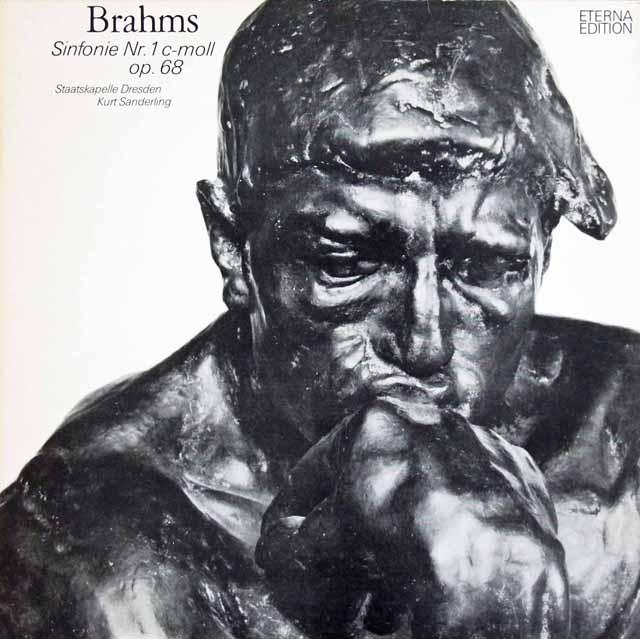 ザンデルリンクのブラームス/交響曲第1番  独ETERNA 3122 LP レコード
