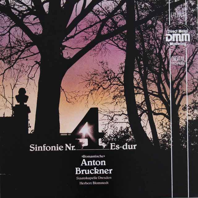 ブロムシュテットのブルックナー/交響曲第4番「ロマンティック」  独ETERNA 3122 LP レコード
