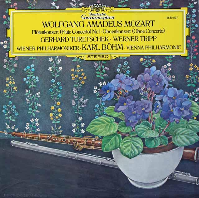 トレチェク、トリップ&ベームのモーツァルト/協奏曲集 独DGG 3125 LP レコード