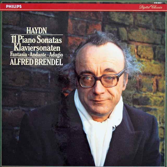 ブレンデルのハイドン/11のピアノ・ソナタ集ほか 蘭PHILIPS 3130 LP レコード