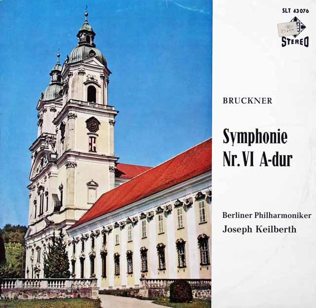 カイルベルトのブルックナー/交響曲第6番 独telefunken 3134 LP レコード