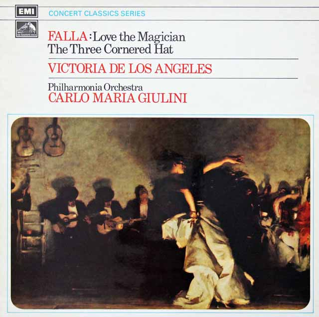 ジュリーニのファリャ/「恋は魔術師」&「三角帽子」 英EMI 3134 LP レコード
