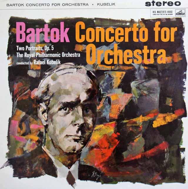 【オリジナル盤】クーベリックのバルトーク/管弦楽のための協奏曲 英EMI(HMV) 3137 LP レコード
