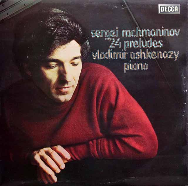 【オリジナル盤】アシュケナージのラフマニノフ/「24の前奏曲」 英DECCA 3137 LP レコード