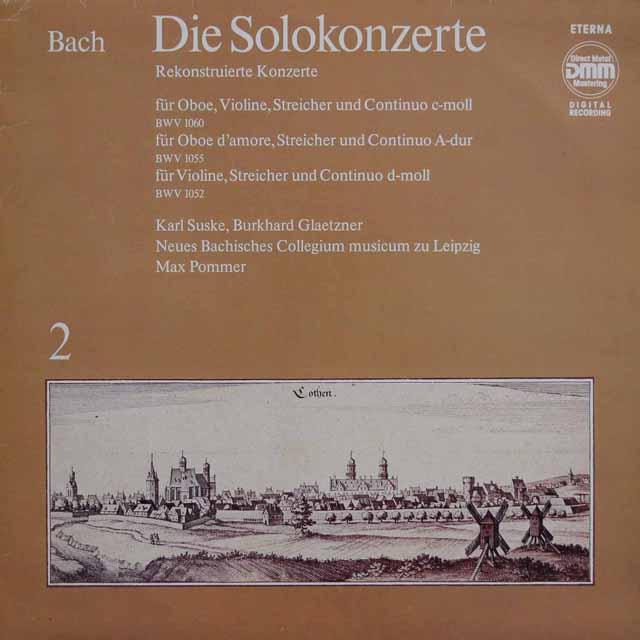 ズスケ&グレツナーのバッハ/協奏曲集 vol.2 独ETERNA 3137 LP レコード