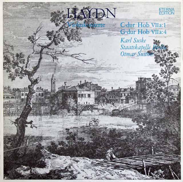 ズスケ&スウィトナーのハイドン/ヴァイオリン協奏曲集 独ETERNA 3138 LP レコード
