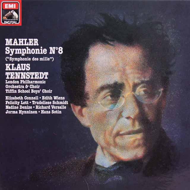 テンシュテットのマーラー/交響曲第8番 仏EMI 3140 LP レコード