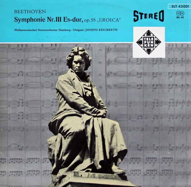 【オリジナル盤】カイルベルトのベートーヴェン/交響曲第3番「英雄」 独TELEFUNKEN 3141 LP レコード