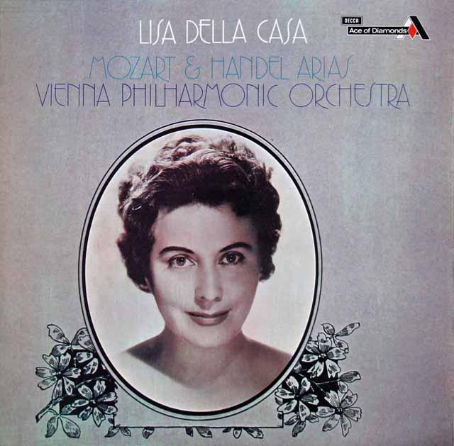 デラ・カーザのモーツァルト&ヘンデル/オペラ・アリア集 英DECCA(Ace of Diamonds) 3142 LP レコード