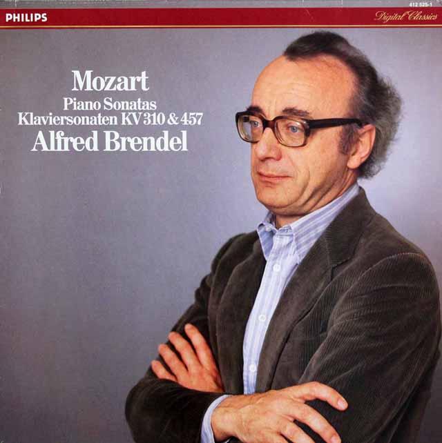 ブレンデルのモーツァルト/ピアノソナタ第8 & 14番 蘭PHILIPS 3203 LP レコード