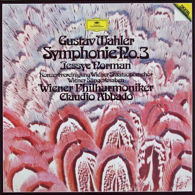 アバドのマーラー/交響曲第3番 独DGG 3204 LP レコード