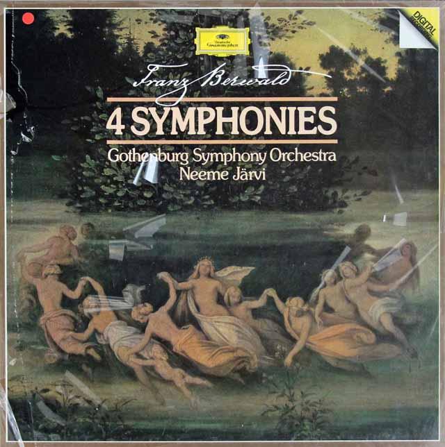【未開封】 ヤルヴィのベルワルド/交響曲全集 独DGG 3204 LP レコード