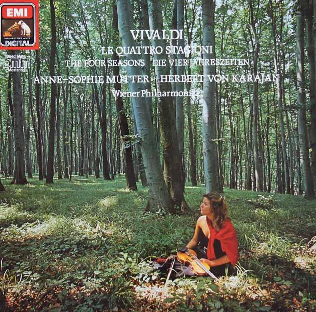 ムター&カラヤンのヴィヴァルディ/「四季」 独EMI 3206 LP レコード