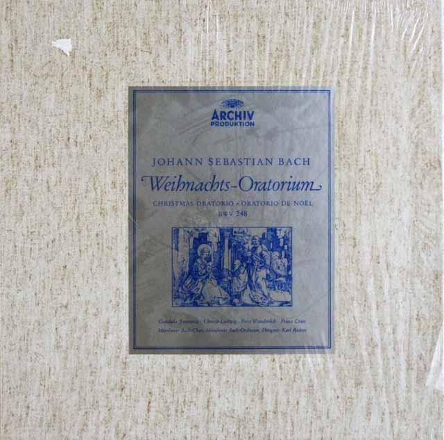 【未開封】 リヒターのバッハ/クリスマス・オラトリオ 独ARCHIV 3207 LP レコード