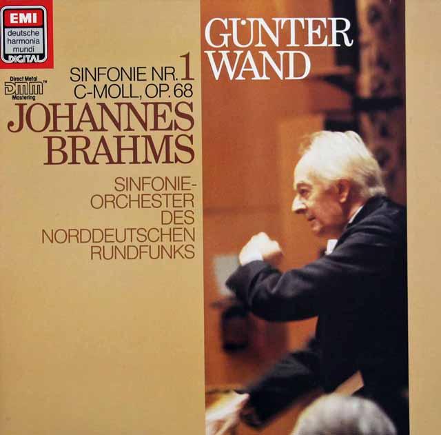 ヴァントのブラームス/交響曲第1番 独EMI 3216 LP レコード