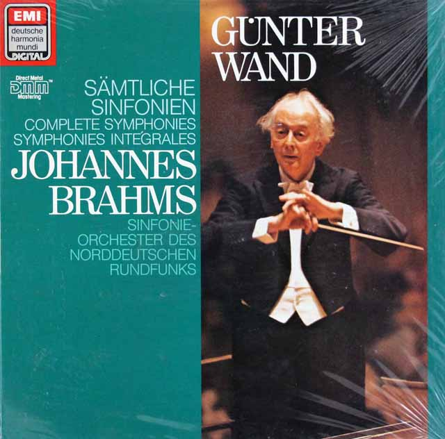 【未開封】ヴァントのブラームス/交響曲全集 独EMI/HM 3216 LP レコード