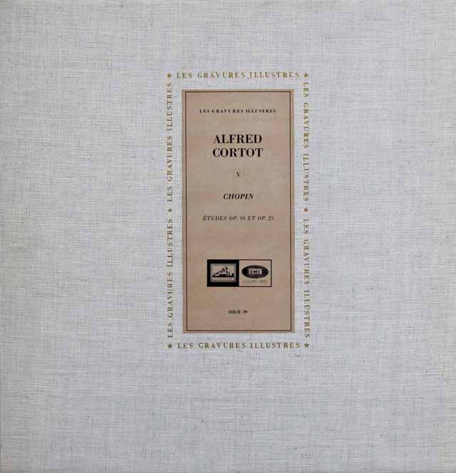 コルトーのショパン/練習曲集 仏EMI(VMS) 3217 LP レコード
