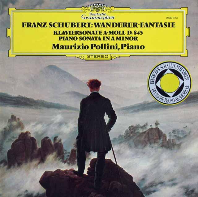 ポリーニのシューベルト/幻想曲「さすらい人」ほか 独DGG 3217 LP レコード