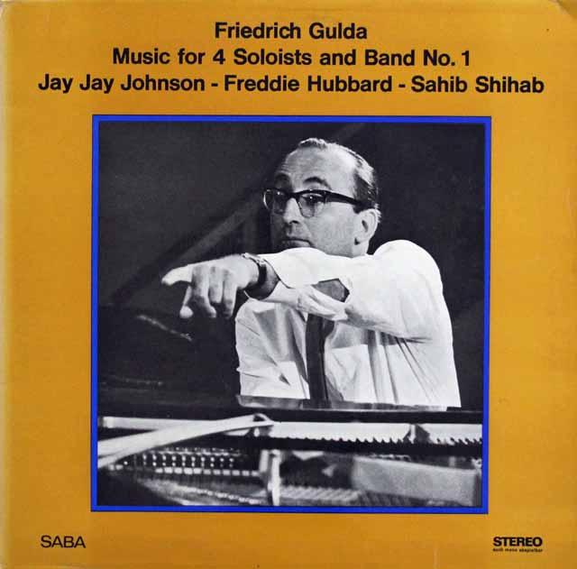 グルダの自作自演/4人のソリストとバンドのための音楽No.1 独SABA 3217 LP レコード