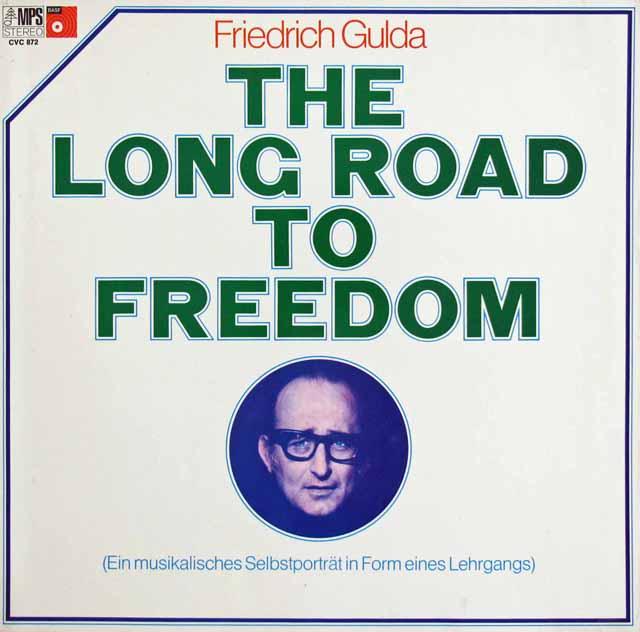 グルダの「自由への道」 独MPS/BASF 3217 LP レコード