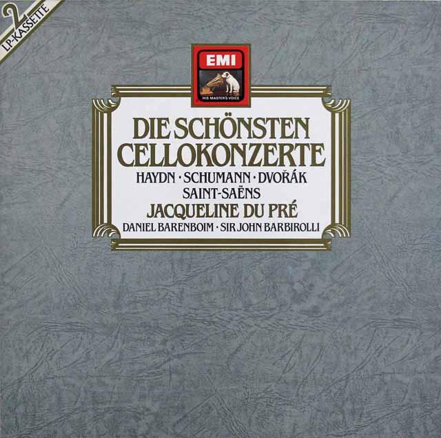 デュ・プレのチェロ協奏曲集 独EMI 3220 LP レコード