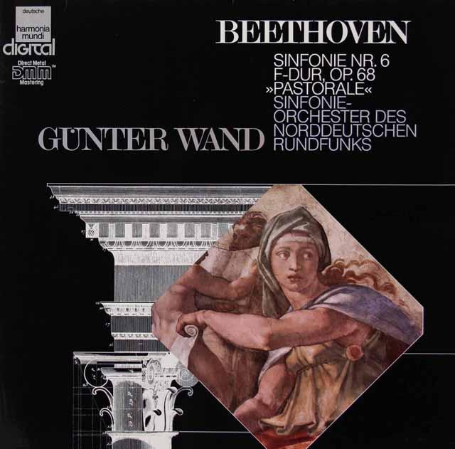 ヴァントのベートーヴェン/交響曲第6番「田園」 独HM 3222 LP レコード