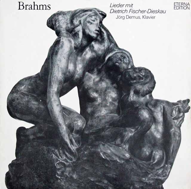 フィッシャー=ディースカウのブラームス/歌曲集 東独ETERNA 3226 LP レコード