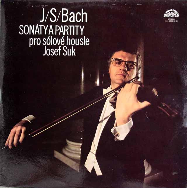 スークのバッハ/無伴奏ソナタ&パルティータ全曲 チェコSUPRAPHON 3227 LP レコード