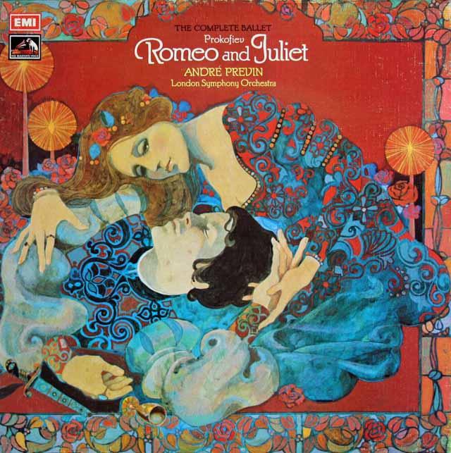 【オリジナル盤】 プレヴィンのプロコフィエフ/「ロメオとジュリエット」全曲 英EMI 3230 LP レコード