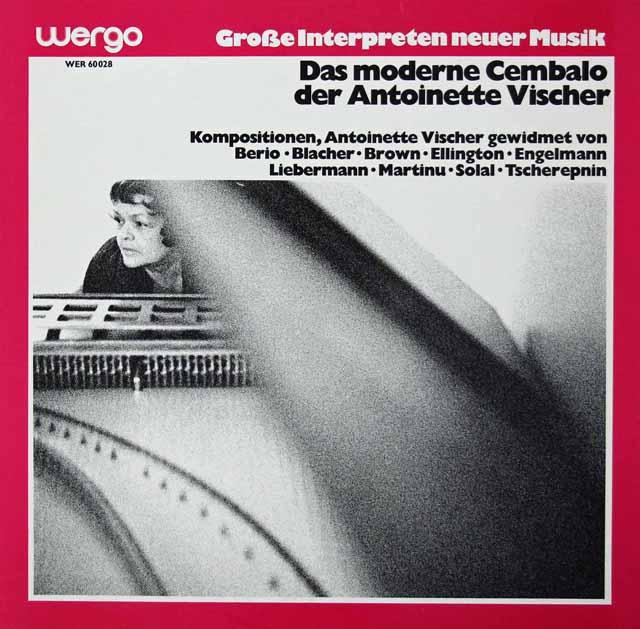 ヴィッシャーのチェンバロ作品集 独Wergo 3270 LP レコード
