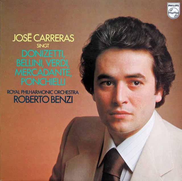 カレーラスのオペラアリア集 蘭PHILIPS 3301 LP レコード