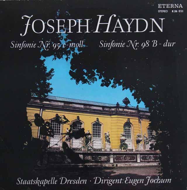 ヨッフムのハイドン/交響曲第95&98番 独ETERNA 3301 LP レコード