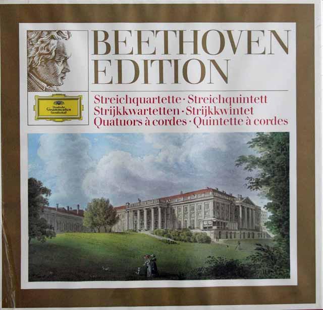 【未開封】 アマデウス四重奏団のベートーヴェン/弦楽四重奏曲、五重奏曲全集 独DGG 3302 LP レコード