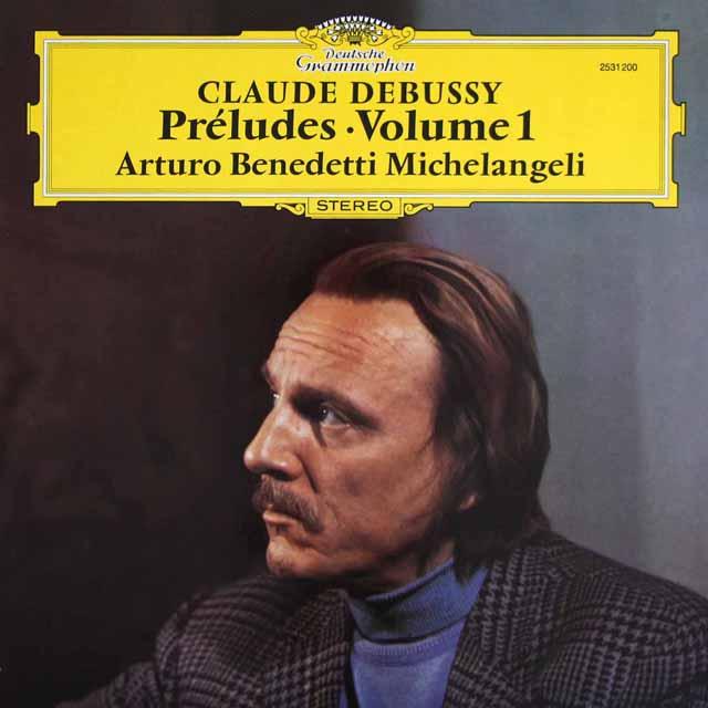 ミケランジェリのドビュッシー/前奏曲集 第1巻 独DGG 3305 LP レコード