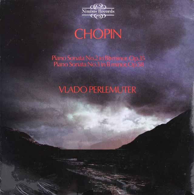 【未開封】ペルルミュテールのショパン/ピアノソナタ第2&3番 英Nimbus 3307 LP レコード