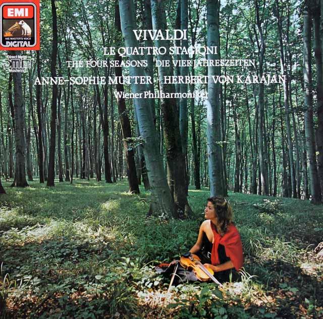 ムター&カラヤンのヴィヴァルディ/「四季」 独EMI 3307 LP レコード