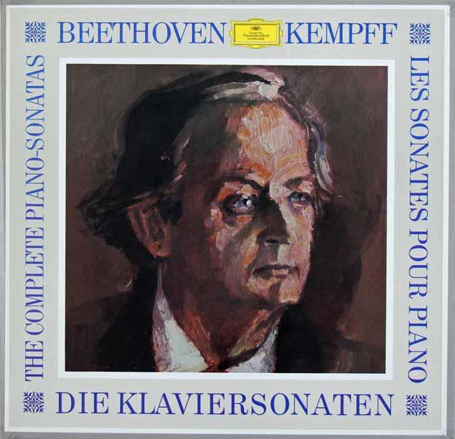 ケンプのベートーヴェン/ピアノソナタ全集 独DGG 3308 LP レコード