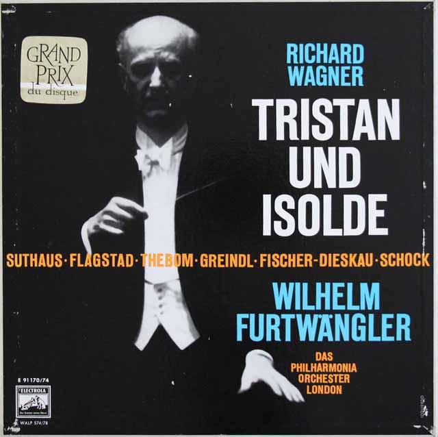 フルトヴェングラーのワーグナー/楽劇「トリスタンとイゾルデ」全曲 独ELECTROLA 3310 LP レコード
