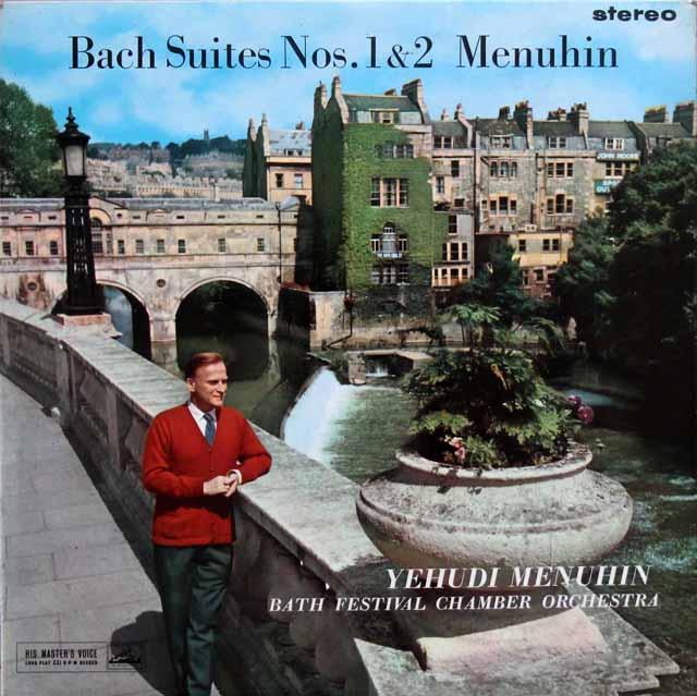 【オリジナル盤】メニューインのバッハ/管弦楽組曲全集(全4曲) 英EMI 3311 LP レコード