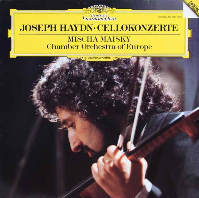 マイスキーのハイドン/チェロ協奏曲集 独DGG 3316 LP レコード