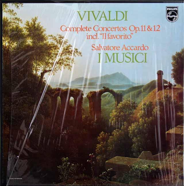 【未開封】 アッカルド、イ・ムジチのヴィヴァルディ/6つのヴァイオリン協奏曲 作品11、12 PHILIPS 3316 LP レコード