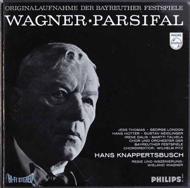 【オリジナル盤】 クナッパーツブッシュのワーグナー/「パルジファル」全曲 蘭PHILIPS 331767 LP レコード
