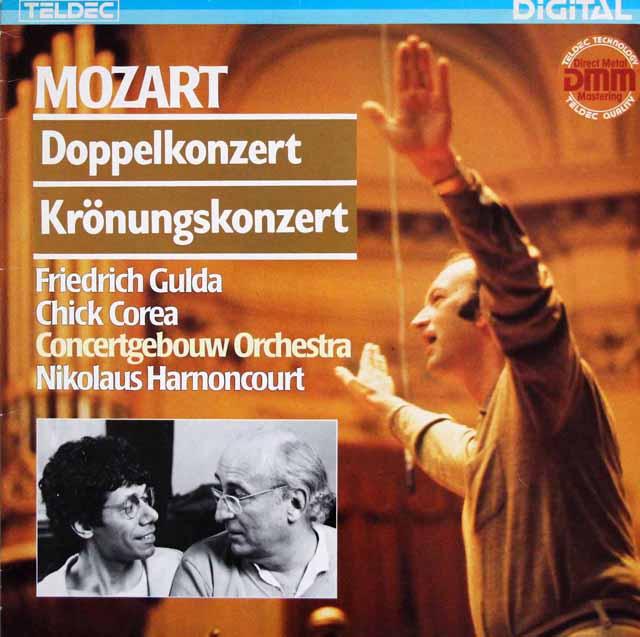 グルダ、コリア、アーノンクールのモーツァルト/2台のピアノのための協奏曲ほか 独ETERNA 3322 LP レコード