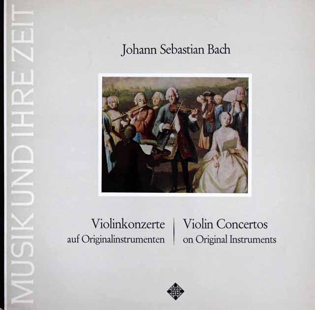アーノンクール夫妻のバッハ/ヴァイオリン協奏曲集 独TELEFUNKEN 3322 LP レコード