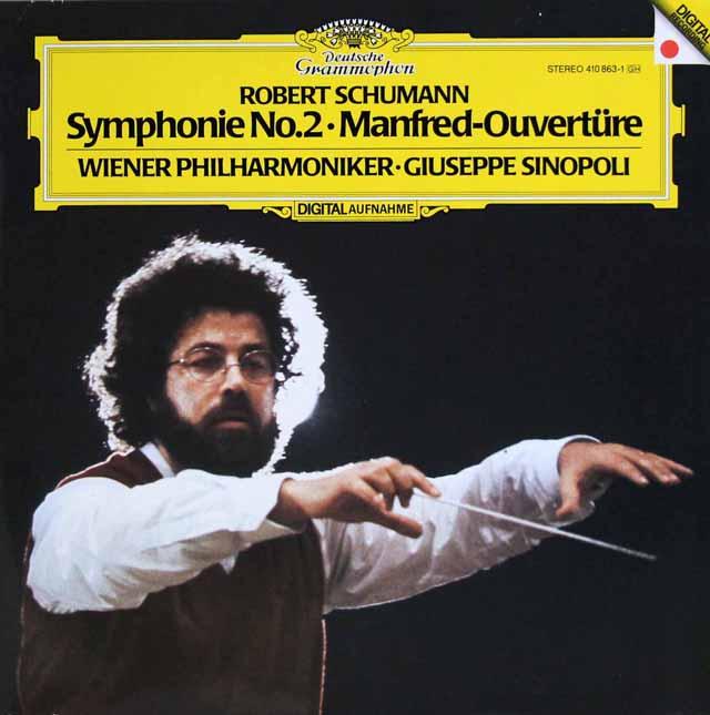 シノーポリのシューマン/交響曲第2番ほか 独DGG 3322 LP レコード