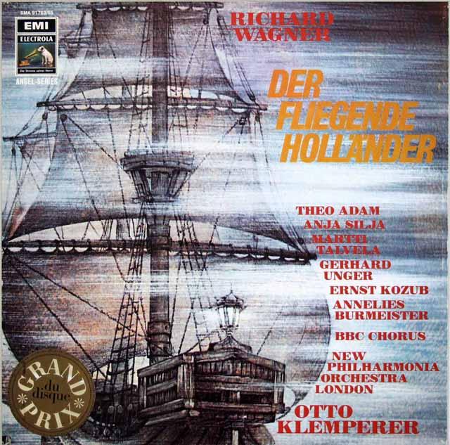 クレンペラーのワーグナー/「さまよえるオランダ人」全曲 独EMI 3328 LP レコード