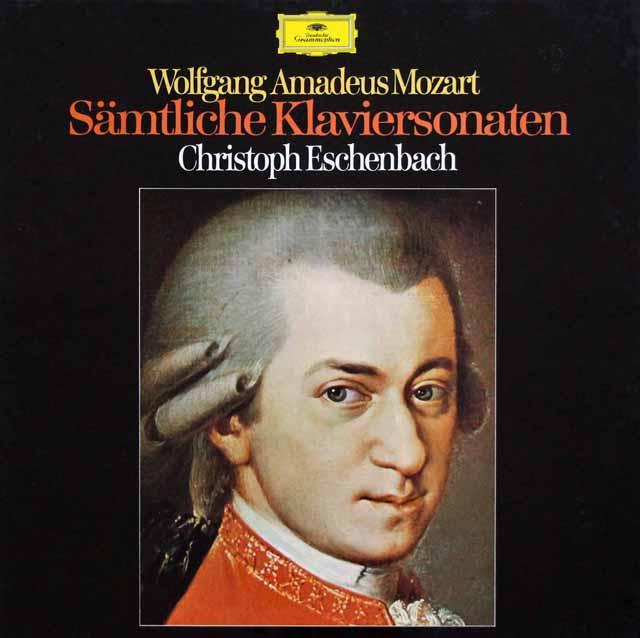 エッシェンバッハのモーツァルト/ピアノソナタ全曲 独DGG 3332 LP レコード